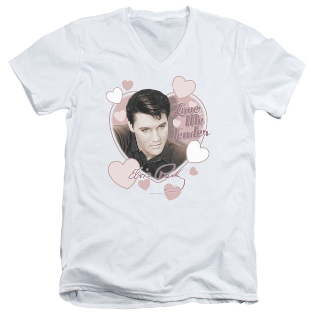 Elvis Presley T Shirt (Slim Fit) | LOVE ME TENDER Slim-fit Tee