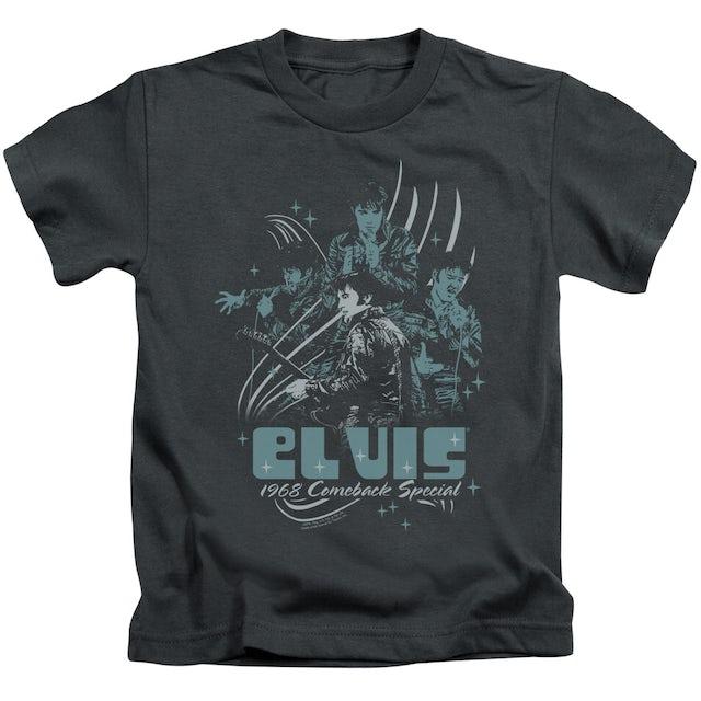 Elvis Presley Kids T Shirt   68 LEATHER Kids Tee