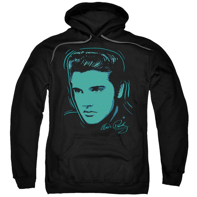 Elvis Presley Hoodie | YOUNG DOTS Pull-Over Sweatshirt