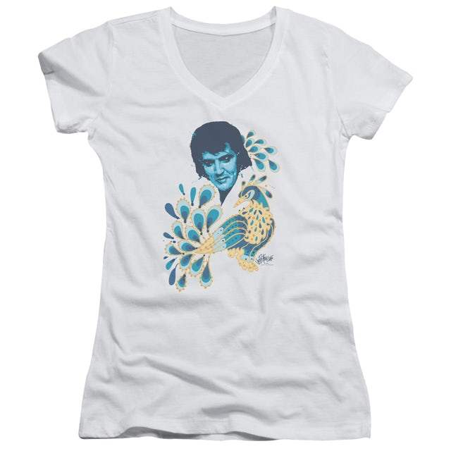 Elvis Presley Junior's V-Neck Shirt | PEACOCK Junior's Tee