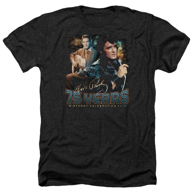 Elvis Presley Tee   75 YEARS Premium T Shirt