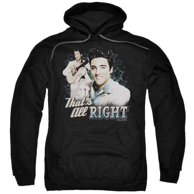 Elvis Presley Hoodie   THAT'S ALL RIGHT Pull-Over Sweatshirt