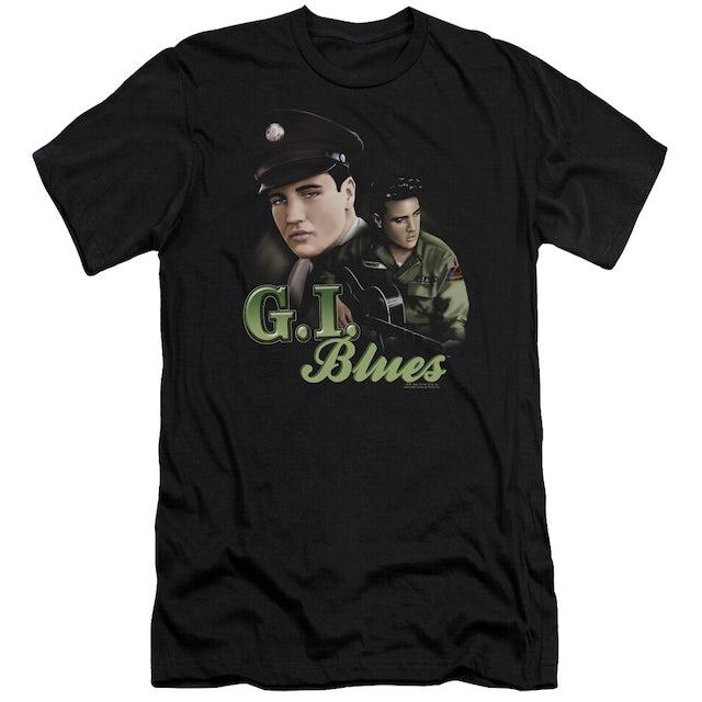 Elvis Presley Slim-Fit Shirt   G I BLUES Slim-Fit Tee