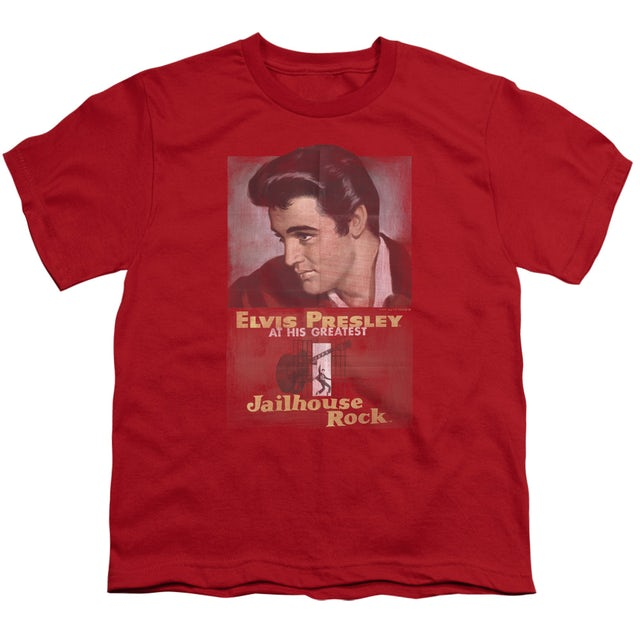 Elvis Presley Youth Tee | JAILHOUSE ROCK POSTER Youth T Shirt