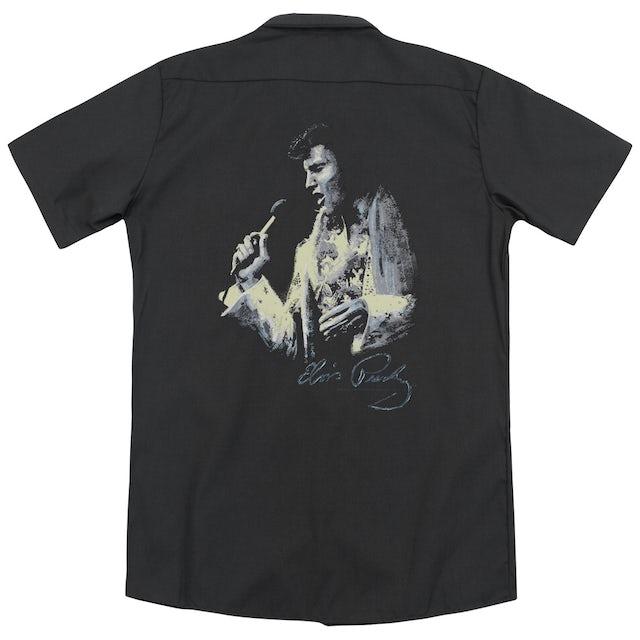 Elvis Presley PAINTED KING (BACK PRINT)