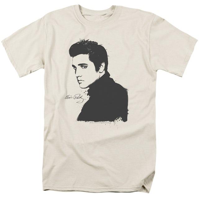 Elvis Presley Shirt | BLACK PAINT T Shirt
