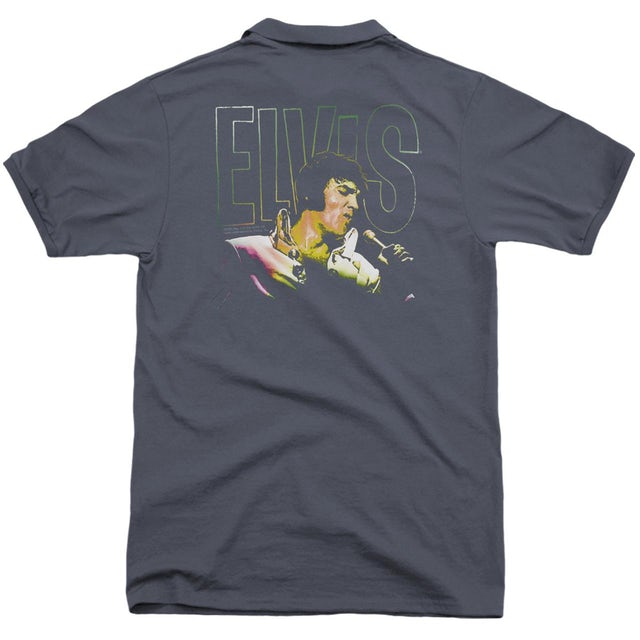 Elvis Presley MULTICOLORED (BACK PRINT)