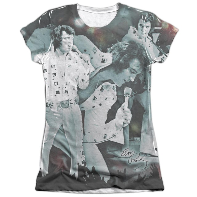 Elvis Presley Junior's Shirt | NOW PLAYING Junior's Tee