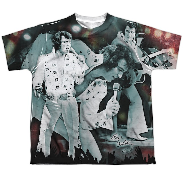 Elvis Presley Youth Shirt | NOW PLAYING Sublimated Tee