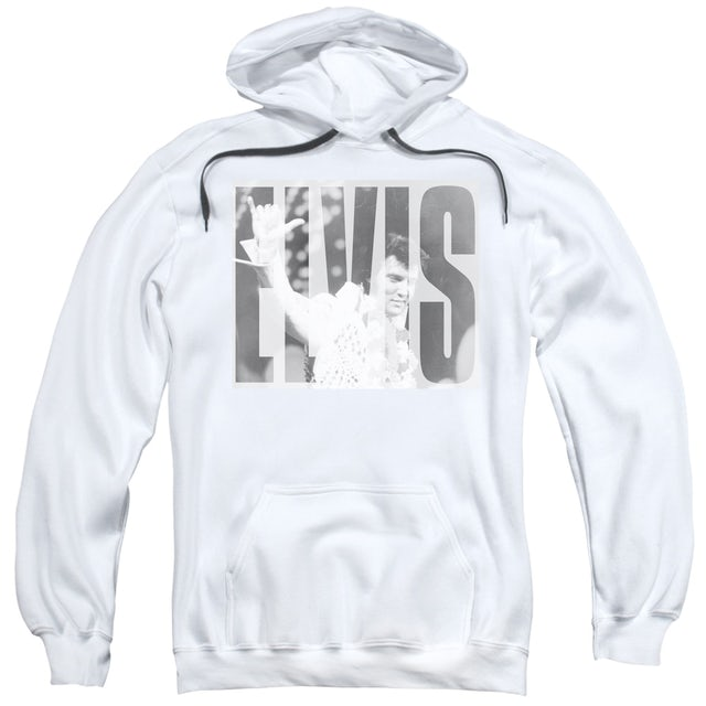 Elvis Presley Hoodie   ALOHA GRAY Pull-Over Sweatshirt