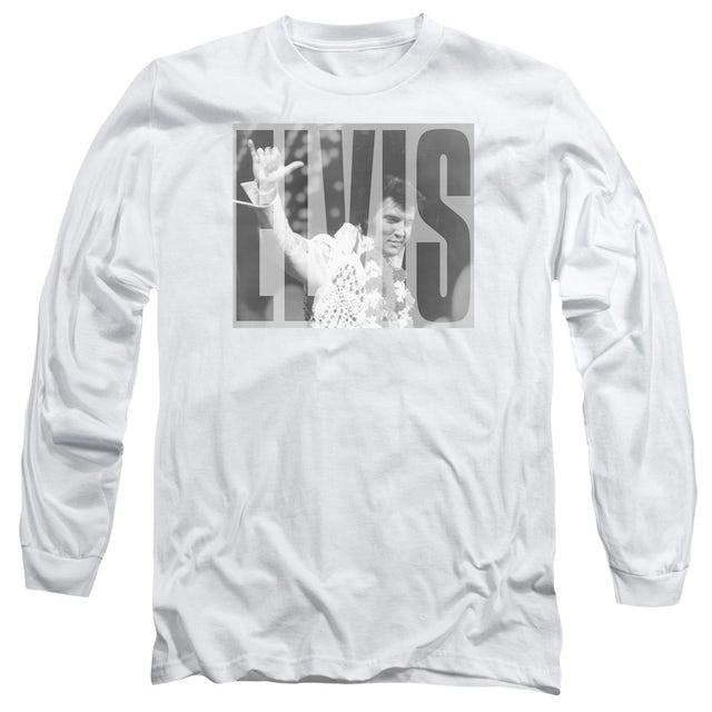 Elvis Presley T Shirt | ALOHA GRAY Premium Tee