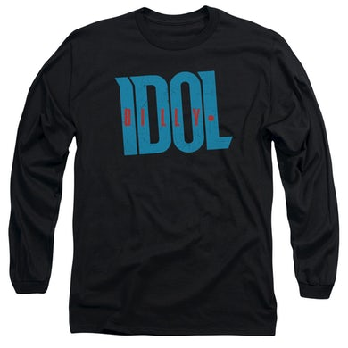 Billy Idol T Shirt   LOGO Premium Tee