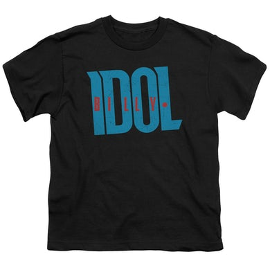 Billy Idol Youth Tee   LOGO Youth T Shirt