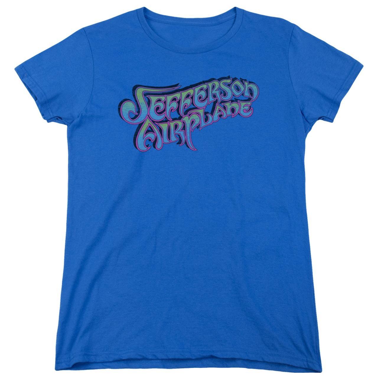 ea87c48563 Jefferson Airplane Women's Shirt   GRADIENT LOGO Ladies Tee. Touch to zoom