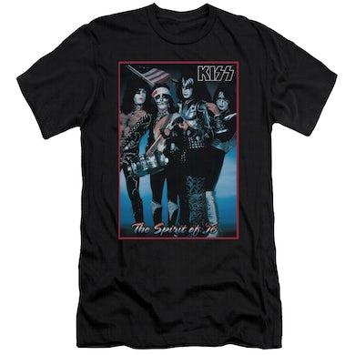 Kiss Slim-Fit Shirt | SPIRIT OF 76 Slim-Fit Tee