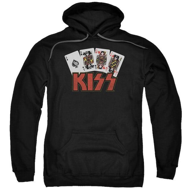 Kiss Hoodie | CARDS Pull-Over Sweatshirt