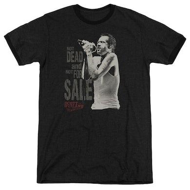 Scott Weiland Shirt | NOT DEAD Premium Ringer Tee