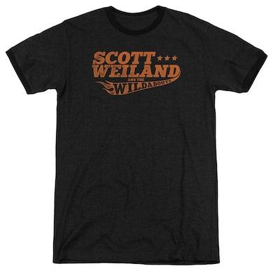 Scott Weiland Shirt | LOGO Premium Ringer Tee