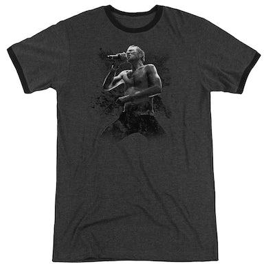 Scott Weiland Shirt | WEILAND ON STAGE Premium Ringer Tee