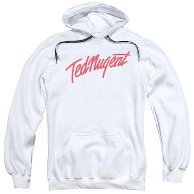 Ted Nugent Hoodie   CLEAN LOGO Pull-Over Sweatshirt
