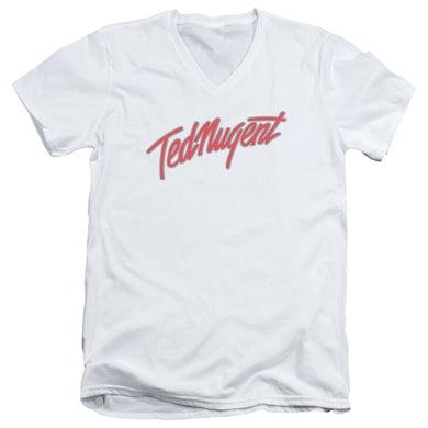 Ted Nugent T Shirt (Slim Fit)   CLEAN LOGO Slim-fit Tee