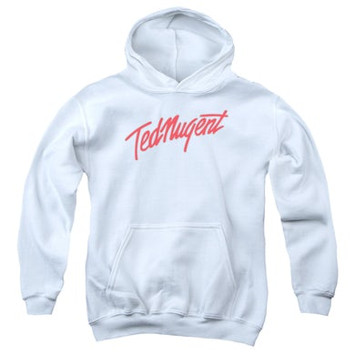 Ted Nugent Youth Hoodie   CLEAN LOGO Pull-Over Sweatshirt