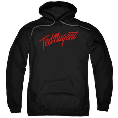 Ted Nugent Hoodie | DISTRESS LOGO Pull-Over Sweatshirt