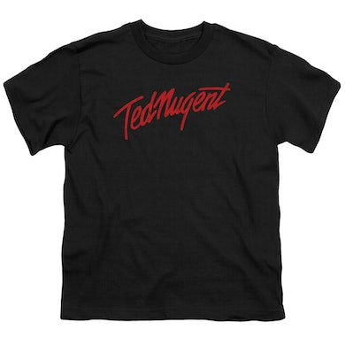 Ted Nugent Youth Tee | DISTRESS LOGO Youth T Shirt