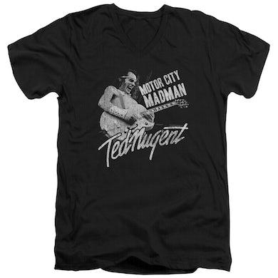 Ted Nugent T Shirt (Slim Fit) | MADMAN Slim-fit Tee
