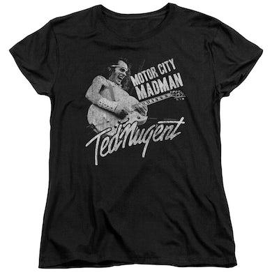 Ted Nugent Women's Shirt   MADMAN Ladies Tee