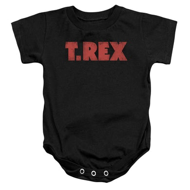 T-Rex Baby Onesie | LOGO Infant Snapsuit