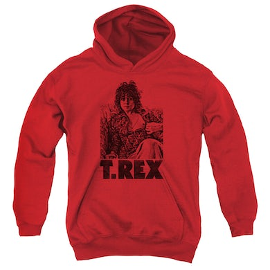 T-Rex Youth Hoodie | LOUNGING Pull-Over Sweatshirt