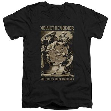 Velvet Revolver T Shirt (Slim Fit) | QUICK MACHINES Slim-fit Tee