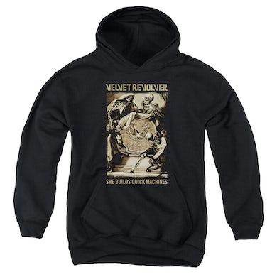 Velvet Revolver Youth Hoodie | QUICK MACHINES Pull-Over Sweatshirt