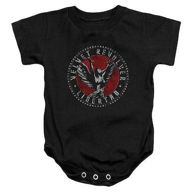 Velvet Revolver Baby Onesie | CIRCLE LOGO Infant Snapsuit