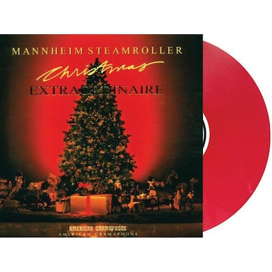 Mannheim Steamroller Christmas Extraordinaire [Exclusive Red Color Vinyl]