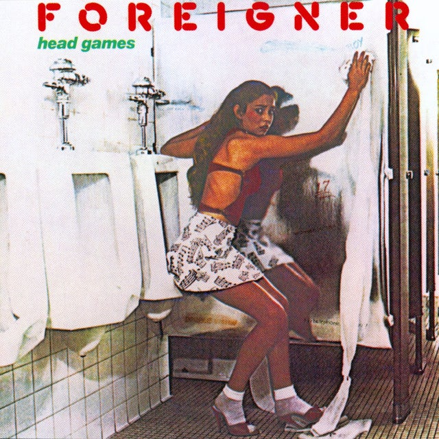 Foreigner HEAD GAMES Vinyl Record
