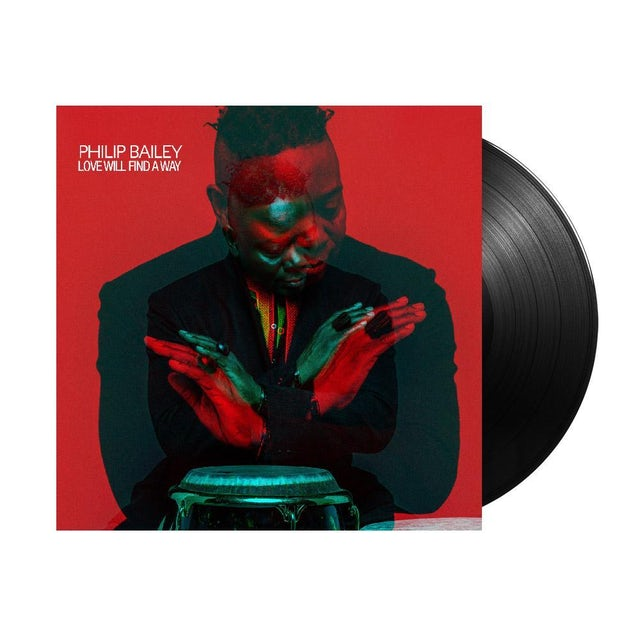 Philip Bailey Love Will Find A Way Autographed LP