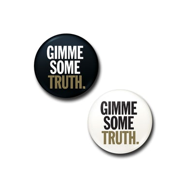 John Lennon Gimme Some Truth Button Set
