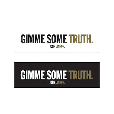 John Lennon Gimme Some Truth Sticker Set