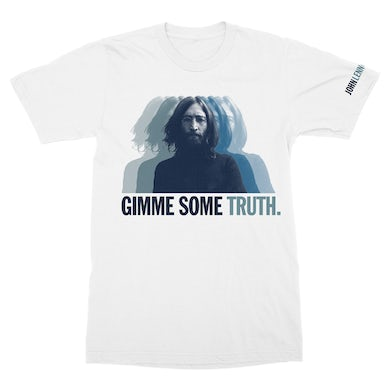 John Lennon Mirror Truth T-Shirt