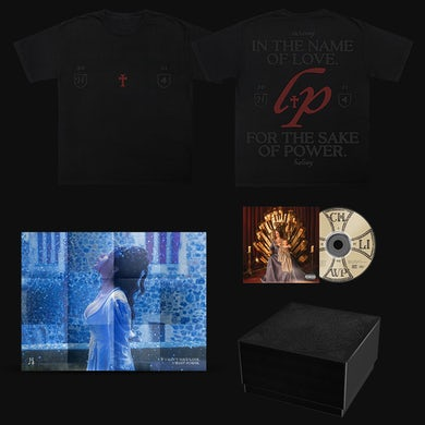 Halsey If I Can't Have Love, I Want Power – Love and Power T-Shirt & CD Box Set
