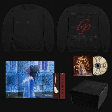 Halsey If I Can't Have Love, I Want Power – Love and Power Sweatshirt & CD Box Set