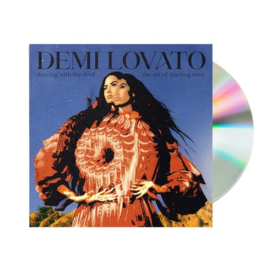 Demi Lovato Dancing With The Devil... The Art of Starting Over Exclusive CD Cover 3 & Bonus Track