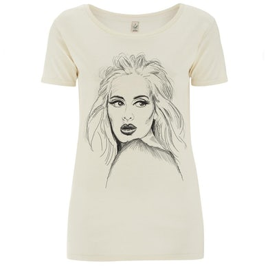 Adele Sketch T-Shirt