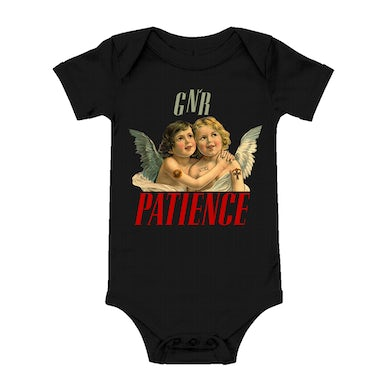 Guns N' Roses Patience Mommy and Me Baby Onesie