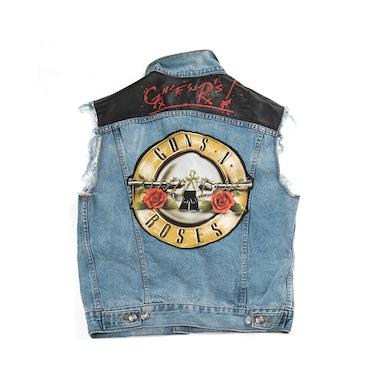 Guns N' Roses GNF'NR Denim Vest
