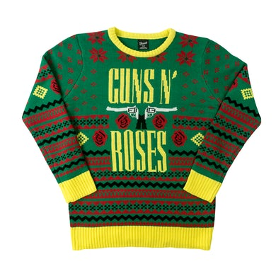 Guns N' Roses Holiday Sweater