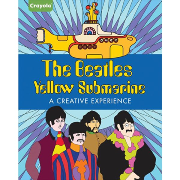 - The Beatles Yellow Submarine: A Creative Experience Coloring Book