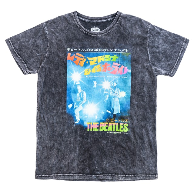 The Beatles Kanji Japan Live Flash T-Shirt